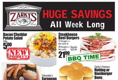 Zarky's Flyer May 26 to June 1