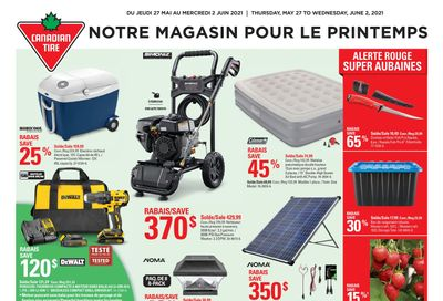 Canadian Tire (QC) Flyer May 27 to June 2