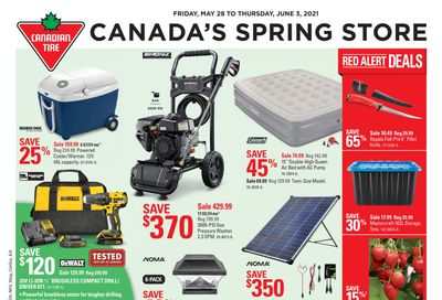 Canadian Tire (Atlantic) Flyer May 28 to June 3
