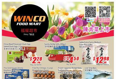 WinCo Food Mart (HWY 7) Flyer May 27 to June 2