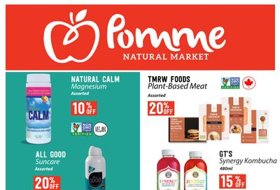 Pomme Natural Market Monthly Flyer May 27 to June 23