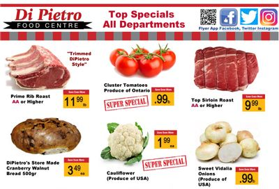 Di Pietro Food Centre Flyer May 27 to June 2