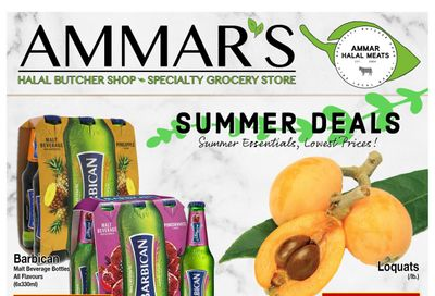 Ammar's Halal Meats Flyer May 27 to June 2