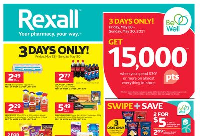 Rexall (West) Flyer May 28 to June 3