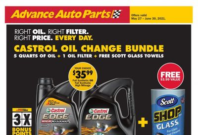 Advance Auto Parts Weekly Ad Flyer May 27 to June 30