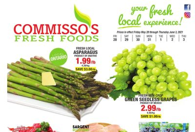 Commisso's Fresh Foods Flyer May 28 to June 3