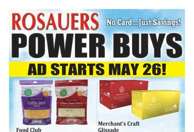 Rosauers (ID, MT, OR, WA) Weekly Ad Flyer May 26 to June 29
