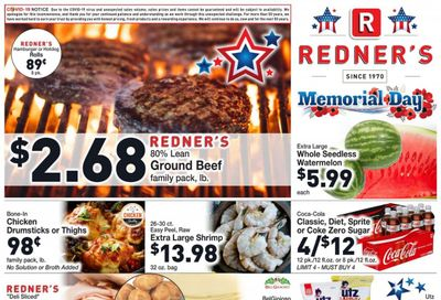 Redner's Markets (DE, MD, PA) Weekly Ad Flyer May 27 to June 2
