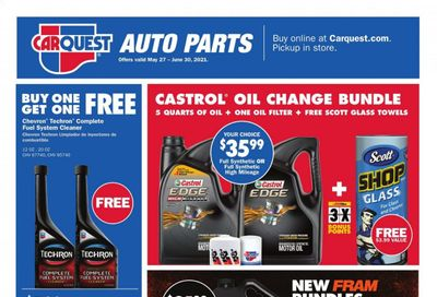 Carquest Weekly Ad Flyer May 27 to June 30