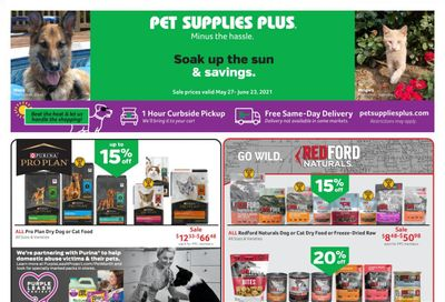 Pet Supplies Plus Weekly Ad Flyer May 27 to June 23