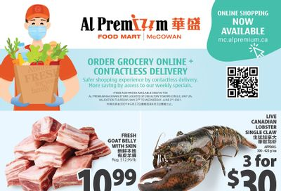 Al Premium Food Mart (McCowan) Flyer May 27 to June 2