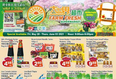 Farm Fresh Supermarket Flyer May 28 to June 3