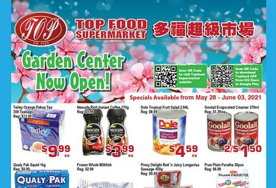 Top Food Supermarket Flyer May 28 to June 3
