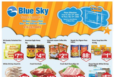 Blue Sky Supermarket (North York) Flyer March 13 to 19