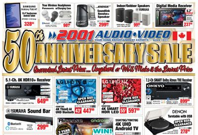 2001 Audio Video Flyer May 28 to June 3
