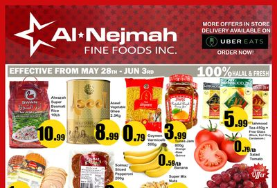 Alnejmah Fine Foods Inc. Flyer May 28 to June 3