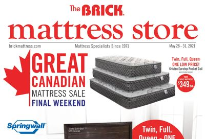 The Brick Mattress Store Flyer May 28 to 31