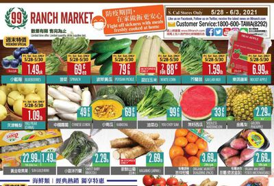 99 Ranch Market (CA) Weekly Ad Flyer May 28 to June 3