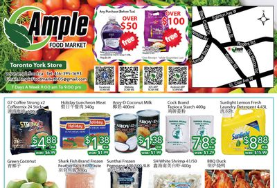 Ample Food Market (North York) Flyer May 28 to June 3