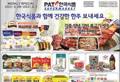 PAT Mart Flyer May 28 to June 3