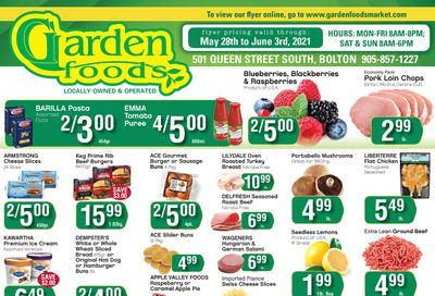Garden Foods Flyer May 28 to June 3
