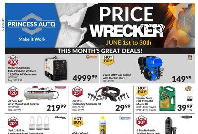 Princess Auto Price Wrecker Flyer June 1 to 30