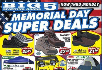 Big 5 (AZ, CA, CO, ID, NM, OR, UT, WA) Weekly Ad Flyer May 28 to May 31