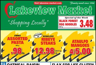 Lakeview Market Flyer May 31 to June 6