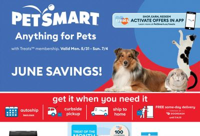 PetSmart Flyer May 31 to July 4