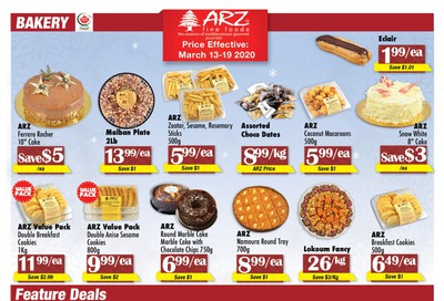 Arz Fine Foods Flyer March 13 to 19