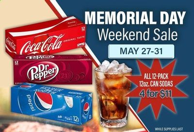 Commissary Weekly Ad Flyer May 27 to May 31