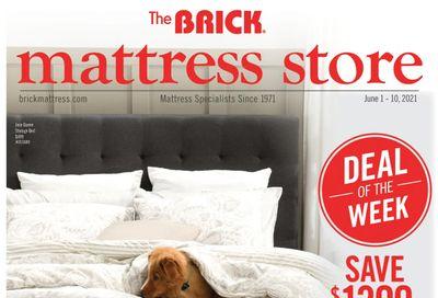 The Brick Mattress Store Flyer June 1 to 10