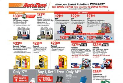 Autozone Weekly Ad Flyer June 1 to June 28