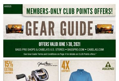 Bass Pro Shops Weekly Ad Flyer June 1 to June 30