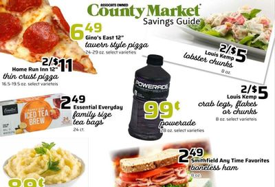 County Market (IL, IN, MO) Weekly Ad Flyer May 31 to June 27