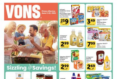 Vons (CA) Weekly Ad Flyer June 2 to June 22