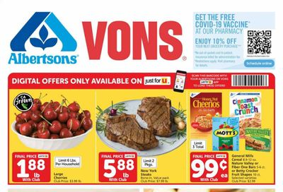Vons (CA) Weekly Ad Flyer June 2 to June 8