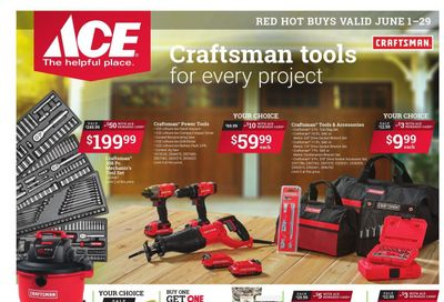 ACE Hardware Weekly Ad Flyer June 1 to June 29