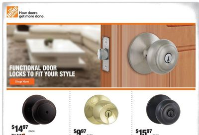 The Home Depot Weekly Ad Flyer June 1 to June 10