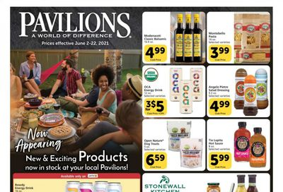 Pavilions (CA) Weekly Ad Flyer June 2 to June 22