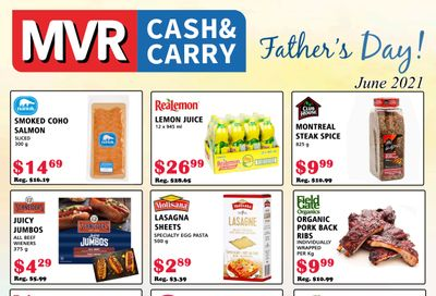 MVR Cash and Carry Flyer June 1 to 30
