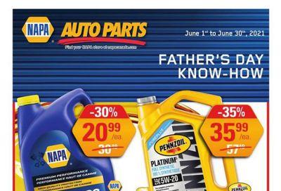 NAPA Auto Parts Flyer June 1 to 30