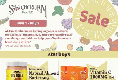 Sweet Cherubim Flyer June 1 to 30