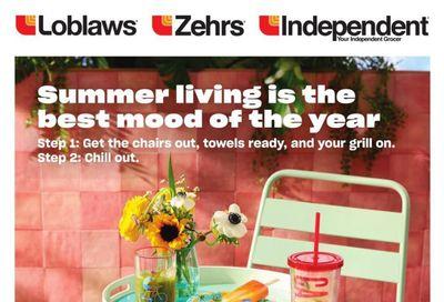 Zehrs Summer Living Flyer June 3 to July 7