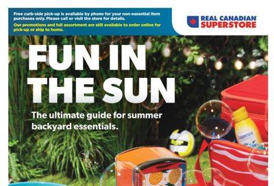 Real Canadian Superstore (ON) Fun in the Sun Flyer June 3 to 14