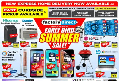 Factory Direct Flyer June 2 to 9