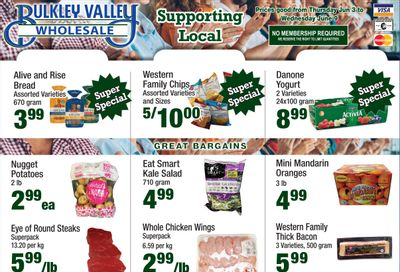 Bulkley Valley Wholesale Flyer June 3 to 9