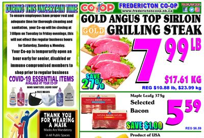 Fredericton Co-op Flyer June 3 to 9