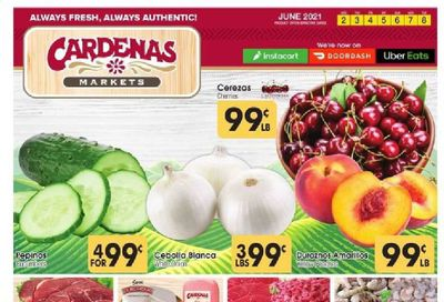 Cardenas (CA, NV) Weekly Ad Flyer June 2 to June 8