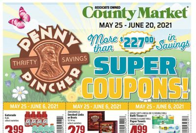 County Market (IL, IN, MO) Weekly Ad Flyer May 25 to June 20